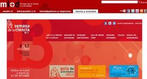 SEMANA DE LA CIENCIA 2013-14
