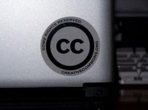 Pegatinas Creative Commons