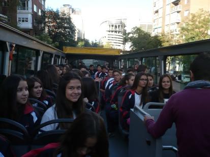 2. En el autobús