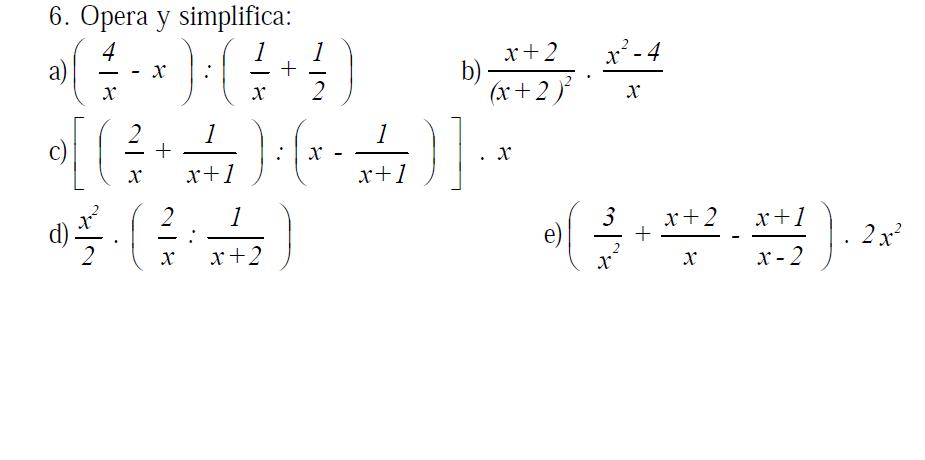 Secundaria 4º Matemáticas | Blog del Colegio El Catón